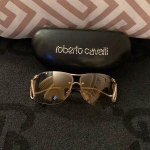 Roberto Cavalli Snake Sunglasses